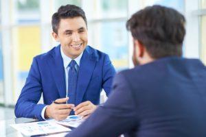 Business men in meeting